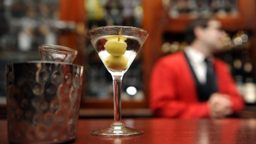 By the number: Just how many martinis did Musso & Frank serve last year?