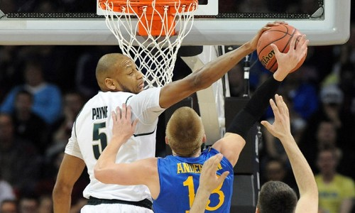 Adreian Payne's 41 points set Michigan State tournament record - Los Angeles Times