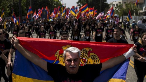 Armenian genocide remembrance march expected to draw thousands