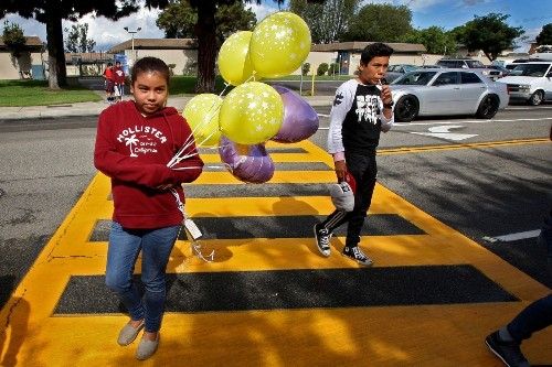 Eyewitnesses to Halloween hit-and-run describe violent collision - Los Angeles Times