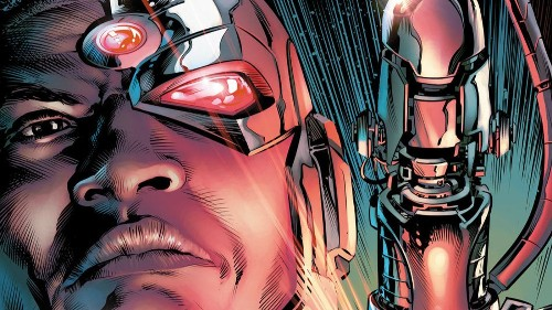 Exclusive sneak peek at the 'Rebirth' of Cyborg examines the man inside the machine