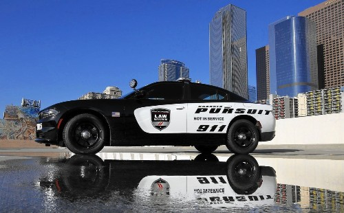 Carmakers are in hot pursuit of fleet sales to law enforcement agencies