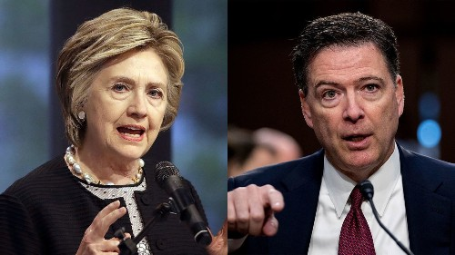 Trump wanted to prosecute James Comey and Hillary Clinton, report says - Los Angeles Times