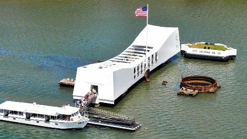 Pearl Harbor's USS Arizona to remain closed for a second Memorial Day