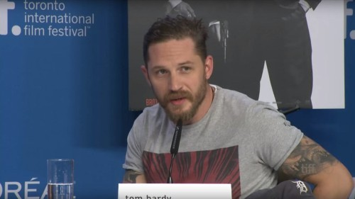 Tom Hardy rebuffs question about his sexuality: 'What on Earth are you on about?'