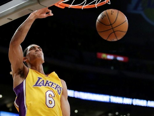 Lakers' Jordan Clarkson is surviving after being thrown in deep end - Los Angeles Times