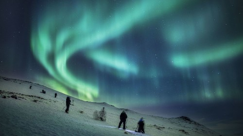 Why cruise the Arctic Circle in winter? It's all about the northern lights
