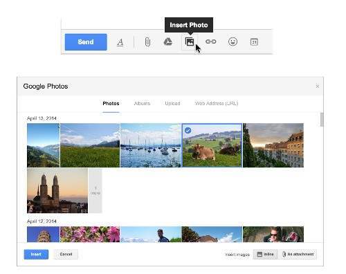 Gmail makes adding photos into messages quicker with new feature - Los Angeles Times