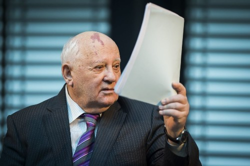 Marking fall of the Berlin Wall, Mikhail Gorbachev warns the West