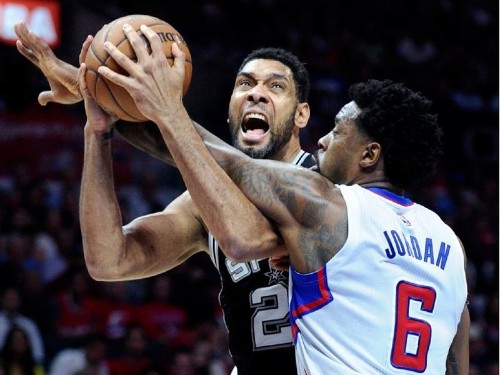 Clippers on brink of elimination after loss to Spurs, 111-107