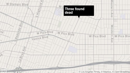 Elderly couple, adult son found dead in apartment - Los Angeles Times