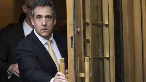 Michael Cohen and Donald Trump ... err ... Individual-1 met cute. Now the romance is over - Los Angeles Times