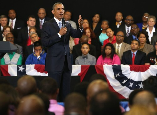 Obama announces $100-million expansion of minority youth project - Los Angeles Times