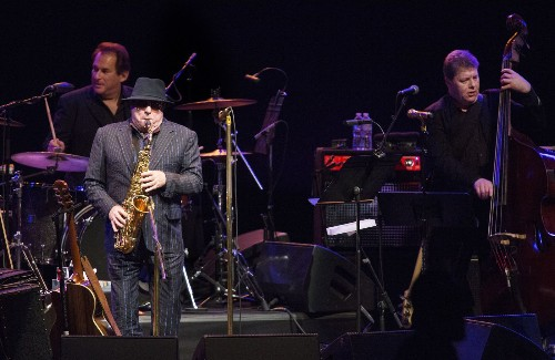 Van Morrison: Reveling in music and life at the Shrine Auditorium - Los Angeles Times
