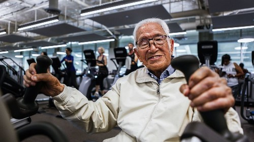 Meet Henry Tseng, the 111-year-old who might work out more than you do