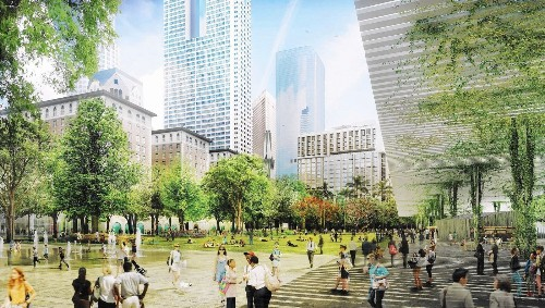 Two downtown L.A. parks and the tricky task of designing them to best serve the city - Los Angeles Times