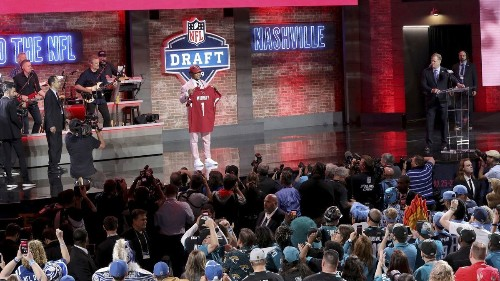 This year's NFL draft was the most-watched and best-attended ever