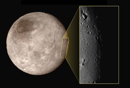 Scientists 'stumped' by odd geologic feature on Pluto's moon Charon - Los Angeles Times