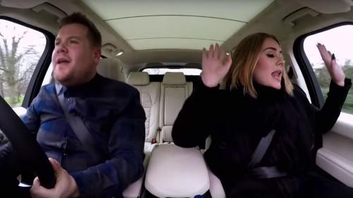 Adele raps Nicki Minaj verses in carpool karaoke, dubs Taylor Swift's squad 'Amazonian'