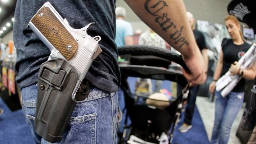 Even in the Wild West, there were rules about carrying concealed weapons