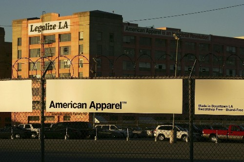 American Apparel to close underperforming stores, lay off workers