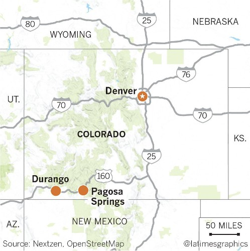 Soothe your aching back in Colorado on a weekend escape to Pagosa Springs