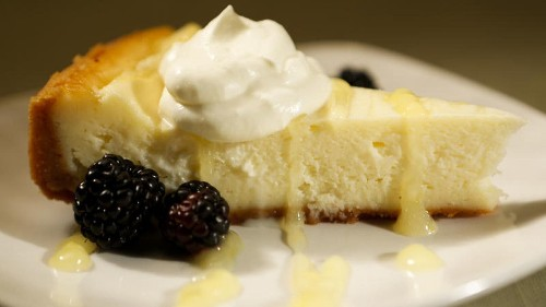 The ultimate lemon cheesecake recipe
