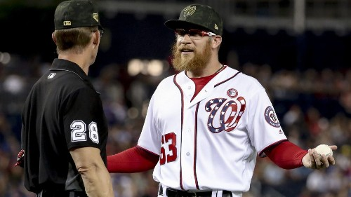 MLB notes: Cubs drop protest over delivery of Nationals' Sean Doolittle