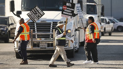 Big port warehouse, plagued by labor violations, will shut down - Los Angeles Times
