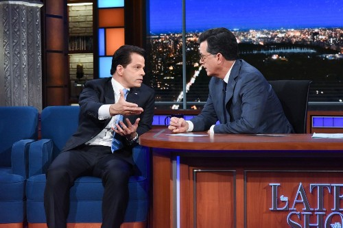Anthony Scaramucci tells Stephen Colbert: 'I thought I'd last longer than a carton of milk'