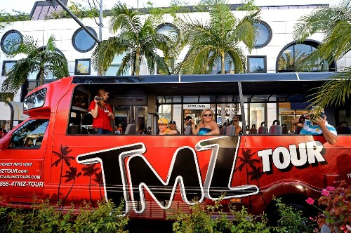 TMZ plans to end its celebrity tour bus partnership with Starline - Los Angeles Times