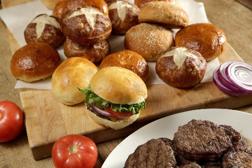 Grilling burgers this summer? Up your game with these homemade bun recipes