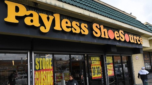 Payless files for bankruptcy. It's shutting all its North American shoe stores