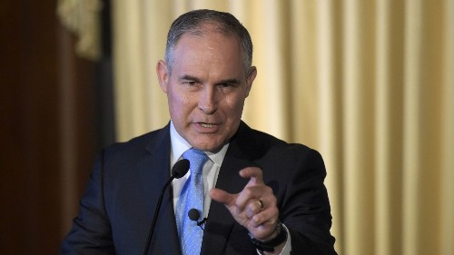 According to Scott Pruitt, states only have the right to pollute, not protect their environments