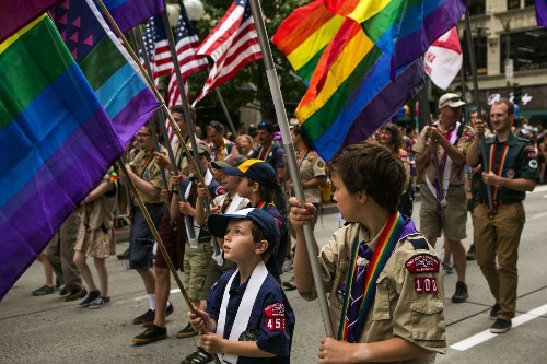 The Boy Scouts' gay gap - Los Angeles Times