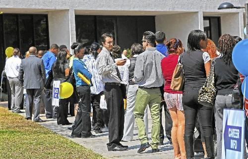 Payrolls in California grow by 11,800 - Los Angeles Times