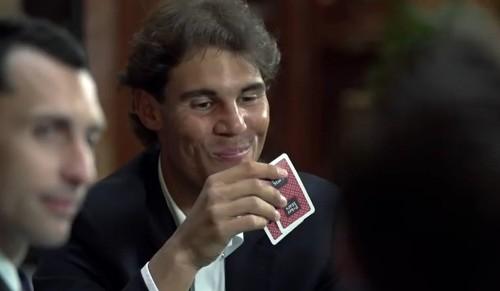 Rafael Nadal isn't just playing tennis in Indian Wells