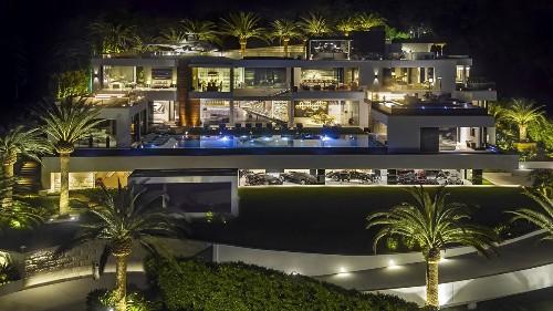Bruce Makowsky's Bel-Air spec house returns to market at $150 million