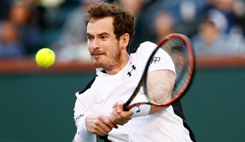 Andy Murray adapts and advances at BNP Paribas Open