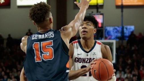 Southland basketball roundup: Rui Hachimura leads No. 2 Gonzaga over Pepperdine 92-64