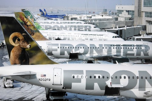 Frontier adds passenger fees