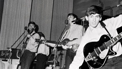 Forget Liverpool. Hamburg, Germany, made the Beatles into the band they became