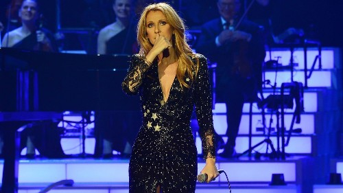 Emotional Celine Dion returns to Las Vegas stage for the first time since her husband died - Los Angeles Times