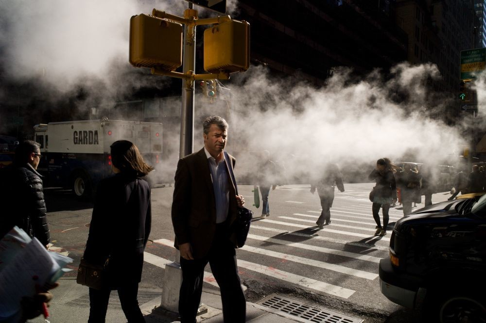 In Search of the Poets and New Masters of Street Photography - Interview by Alexander Strecker | Cover photo © Dimitri Mellos | LensCulture