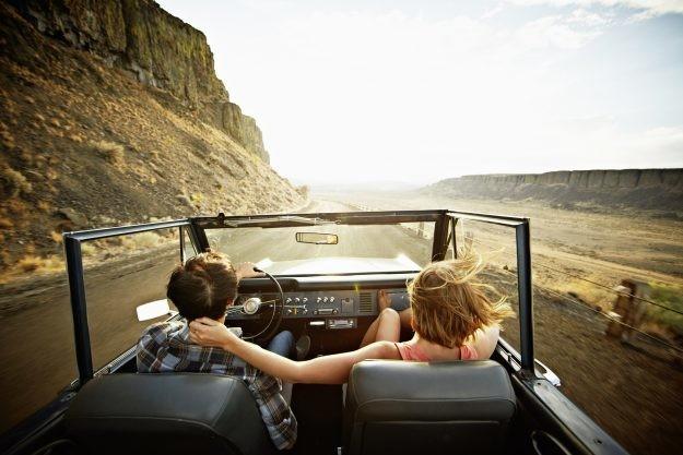 Mozey Road Trip Adventure  - Magazine cover