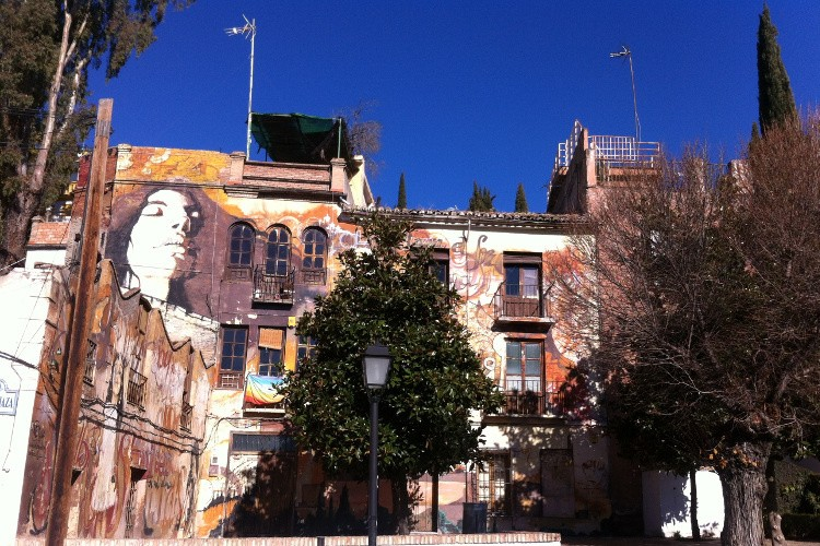 Granada's street art