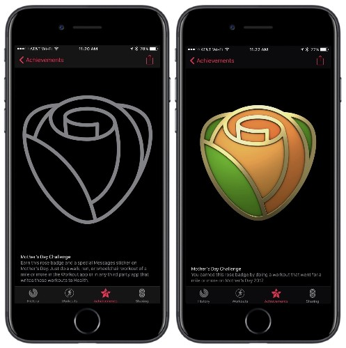 Mother's Day Activity Challenge Will Require Apple Watch Owners to Finish 1-Mile Workout