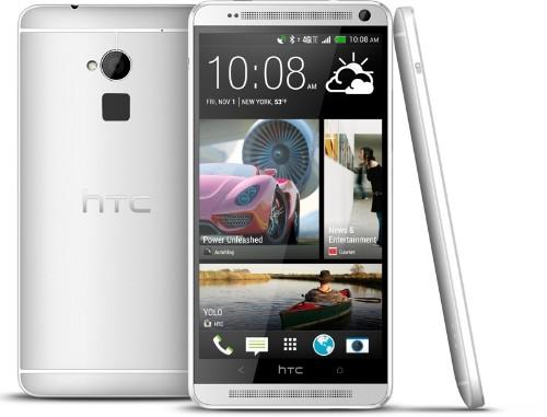 HTC Launches One Max Smartphone, Fingerprint Sensor Garners Negative Reviews
