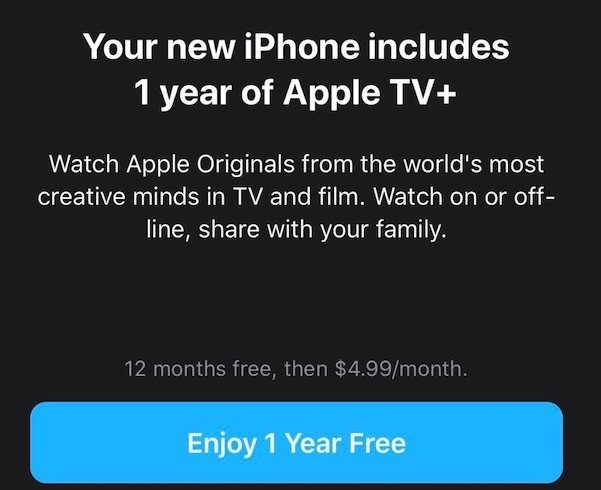 What to Do if You're Not Seeing Your Apple TV+ 1-Year Free Trial Offer