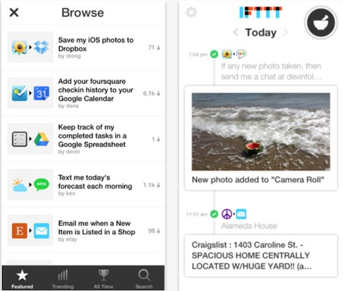 IFTTT Launches iPhone App for Automating Photo, Contact, and Reminder 'Recipes'
